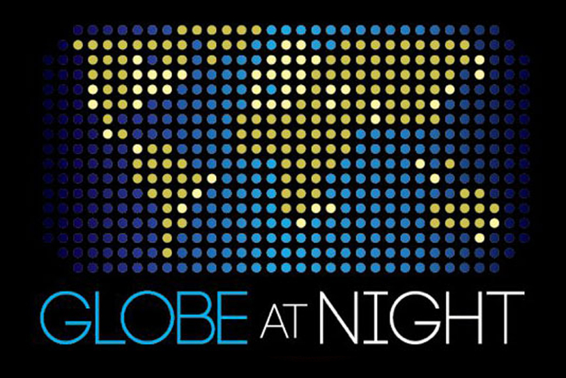 globe-at-night