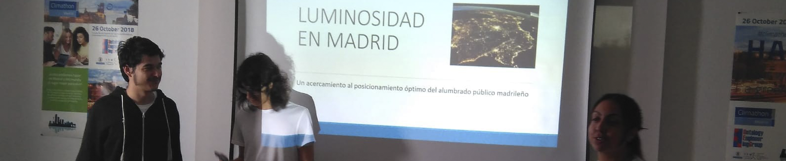 Luminosidad en Madrid